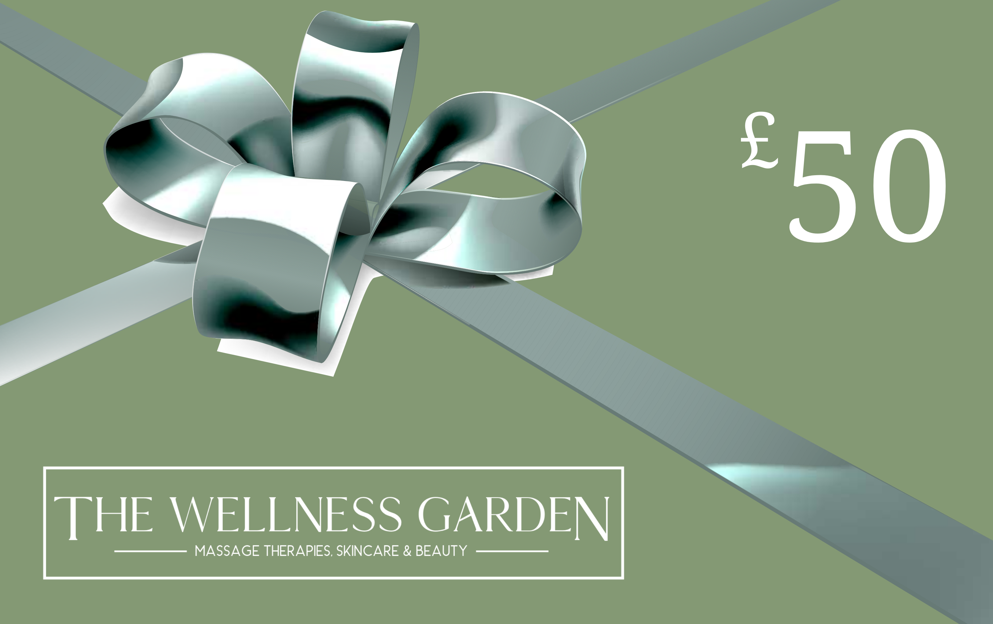 The Wellness Garden £50 gift voucher