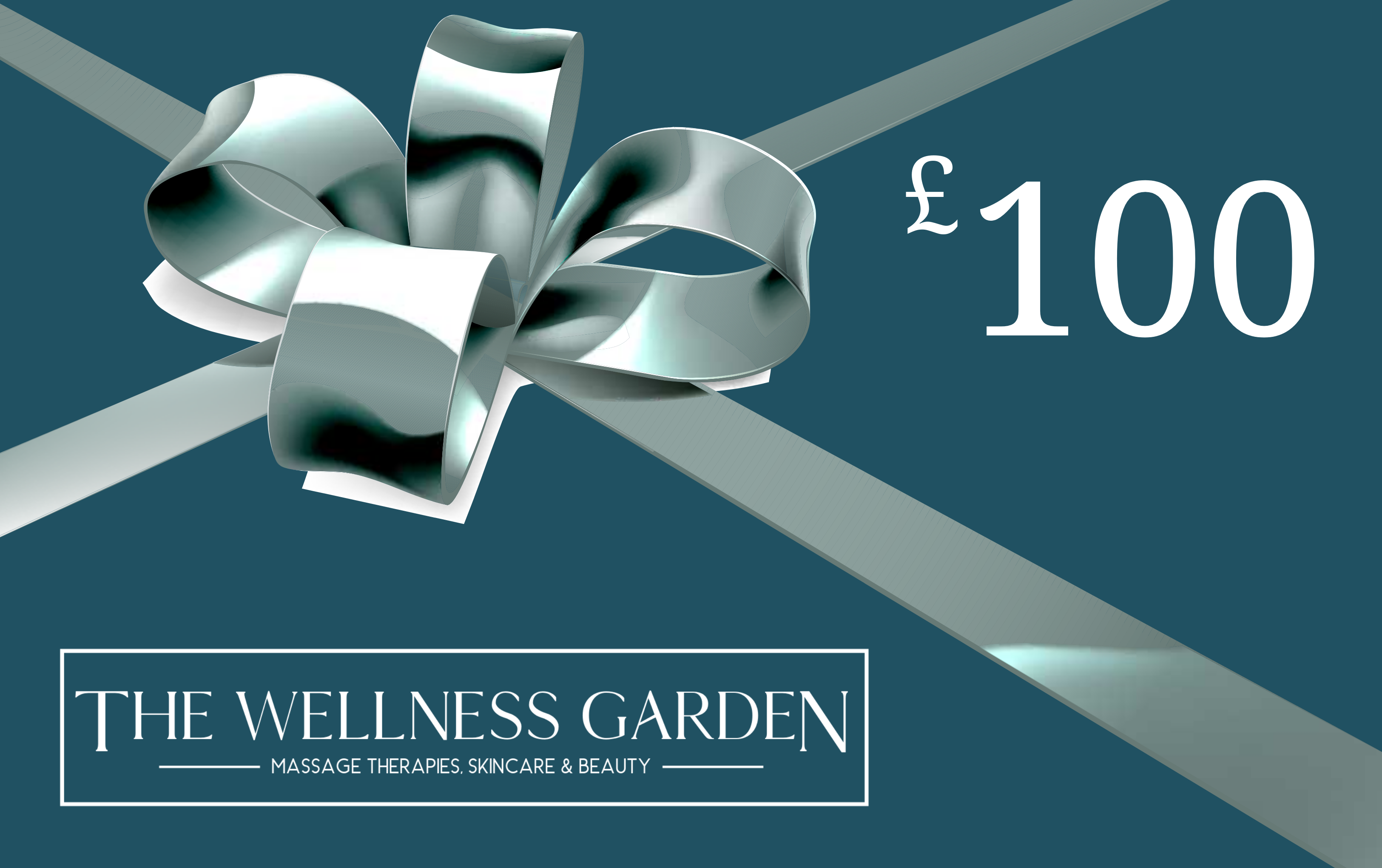 The Wellness Garden £100 gift voucher